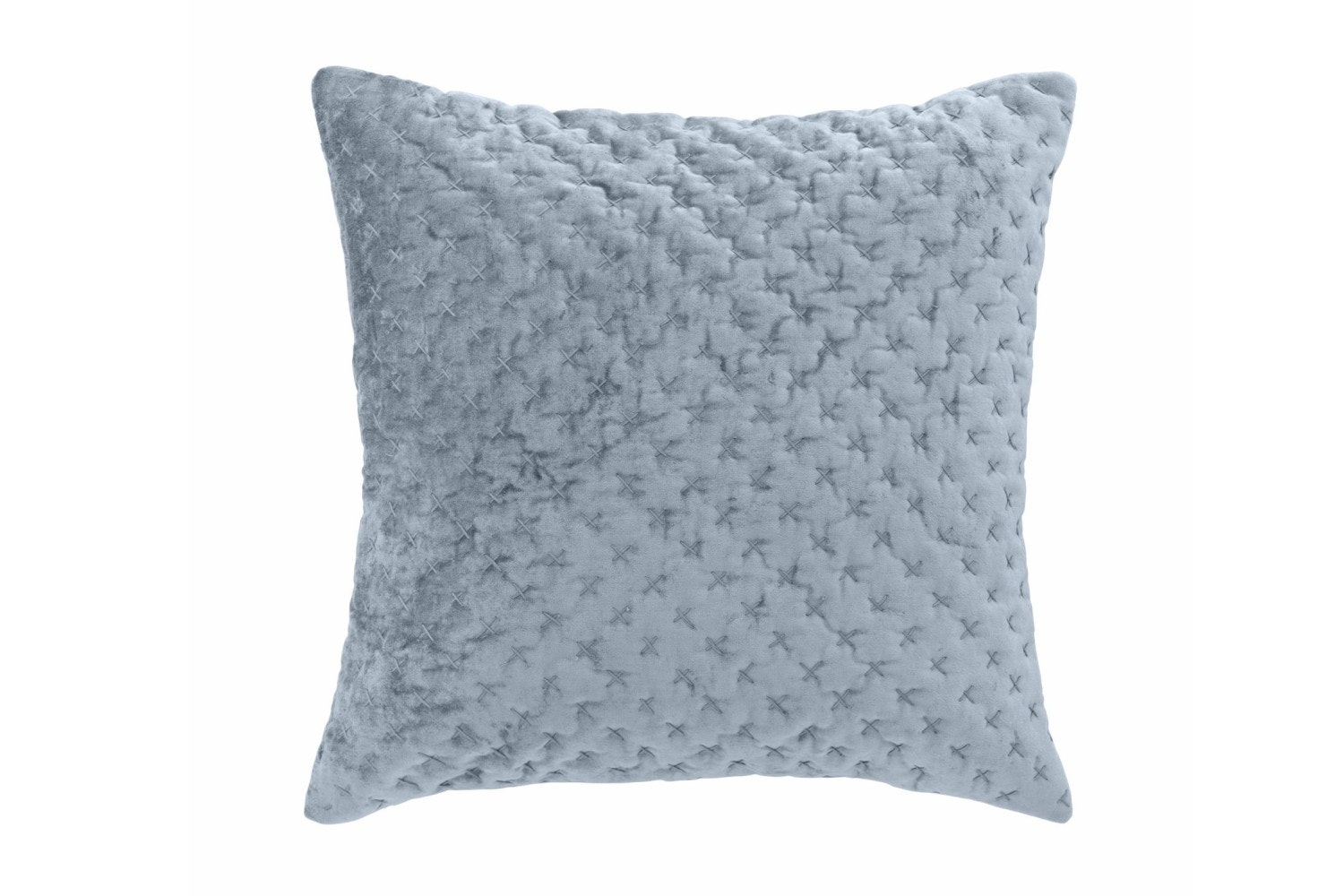 Velvet Embroidered Luxe Cushion | Flint
