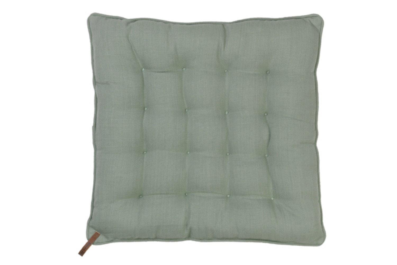 Nordic Basics Cotton Seat Pad | Square | Dove