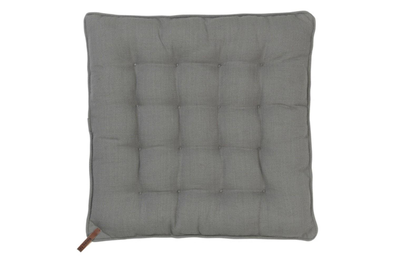 Nordic Basics Cotton Seat Pad | Square | Mud