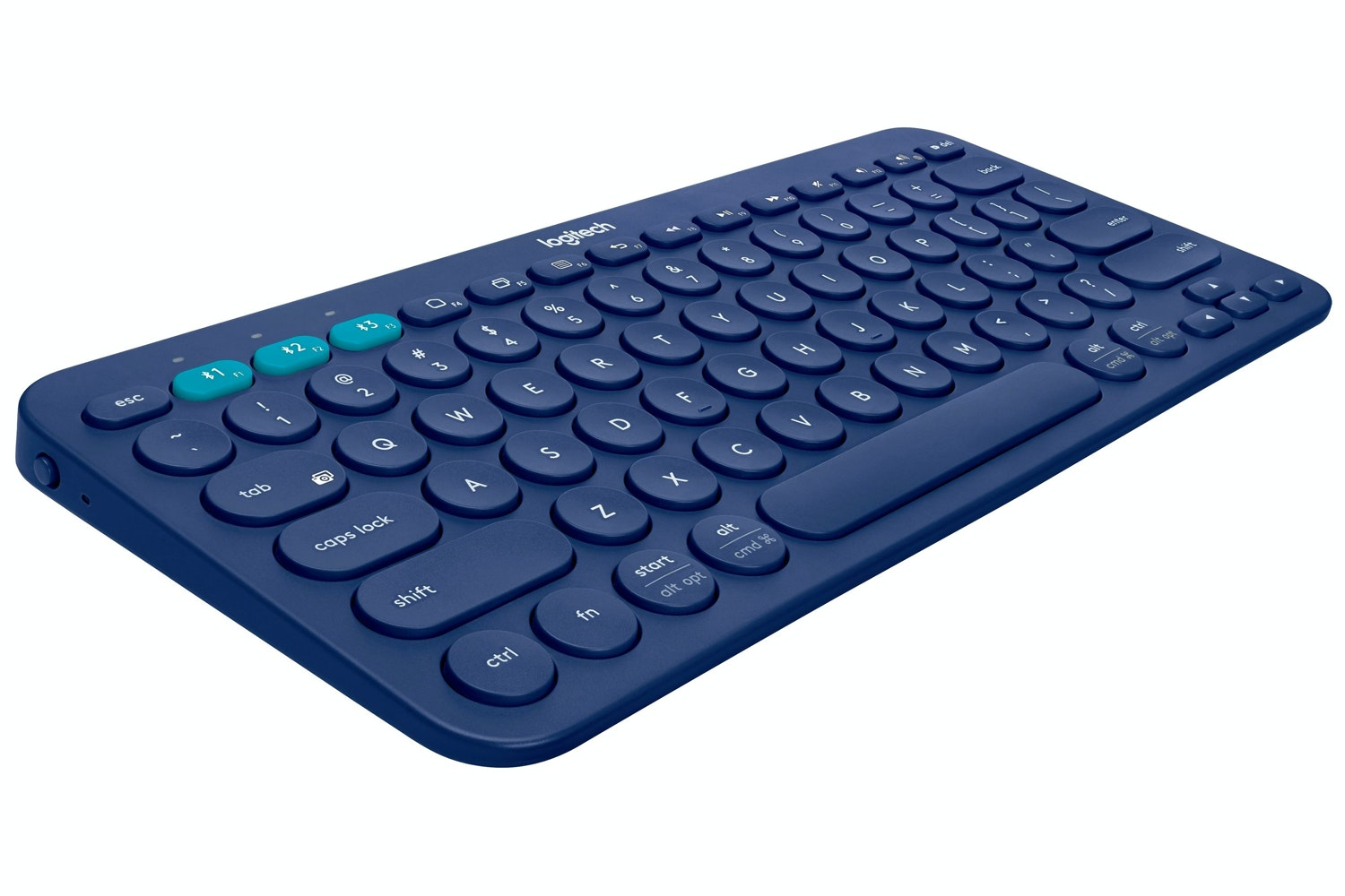 Logitech K380 Multi-Device Wireless Keyboard | Blue