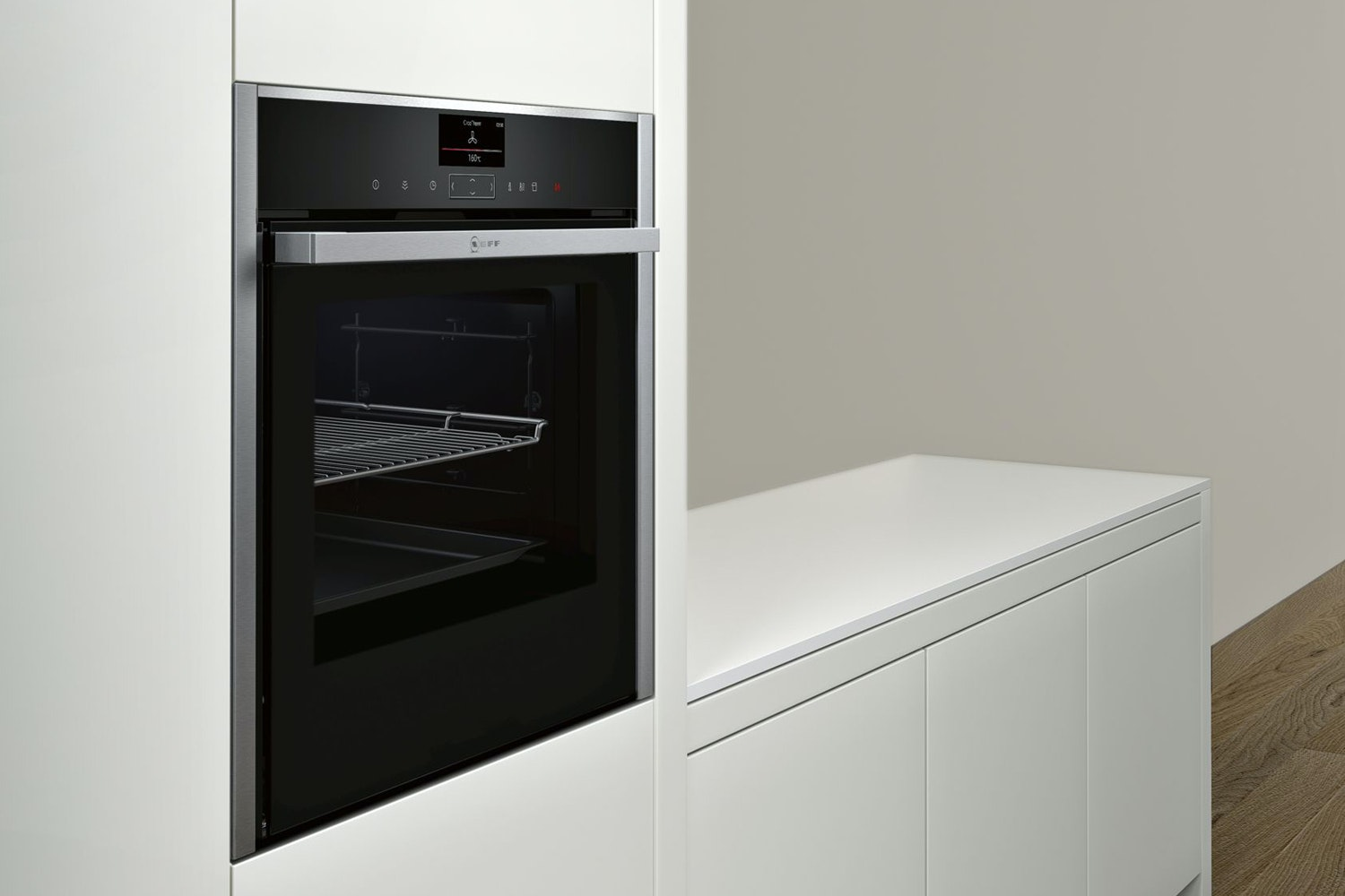 Neff Slide and Hide Single Oven | B47VS34N0B