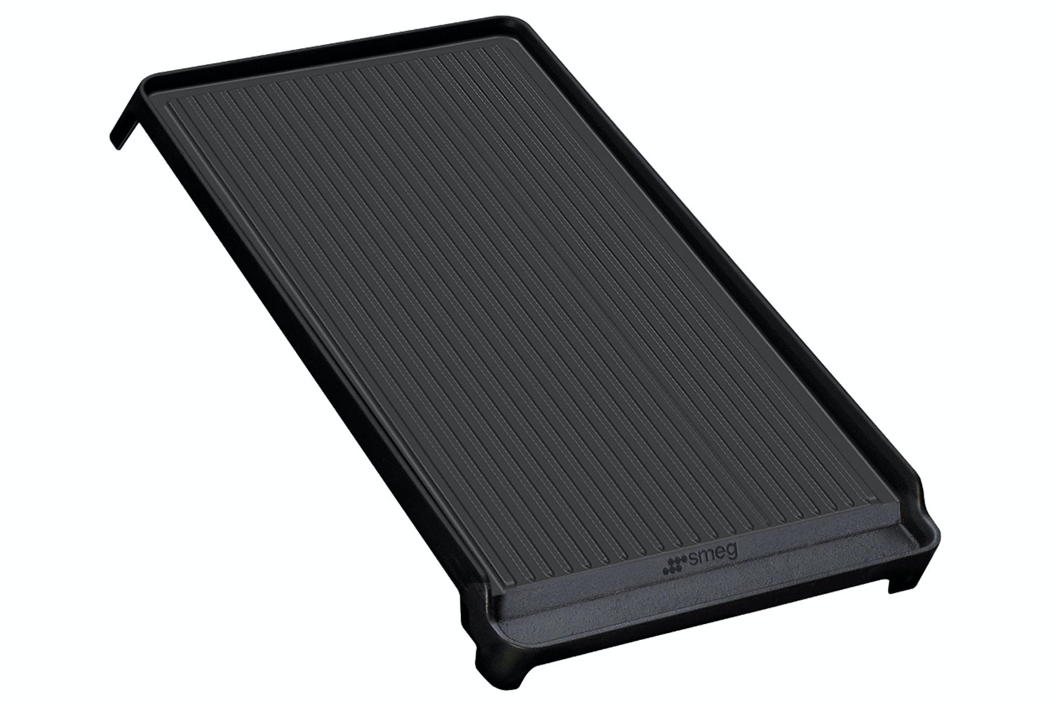 Smeg 110cm Ribbed Cast Iron Griddle | BGTR4110