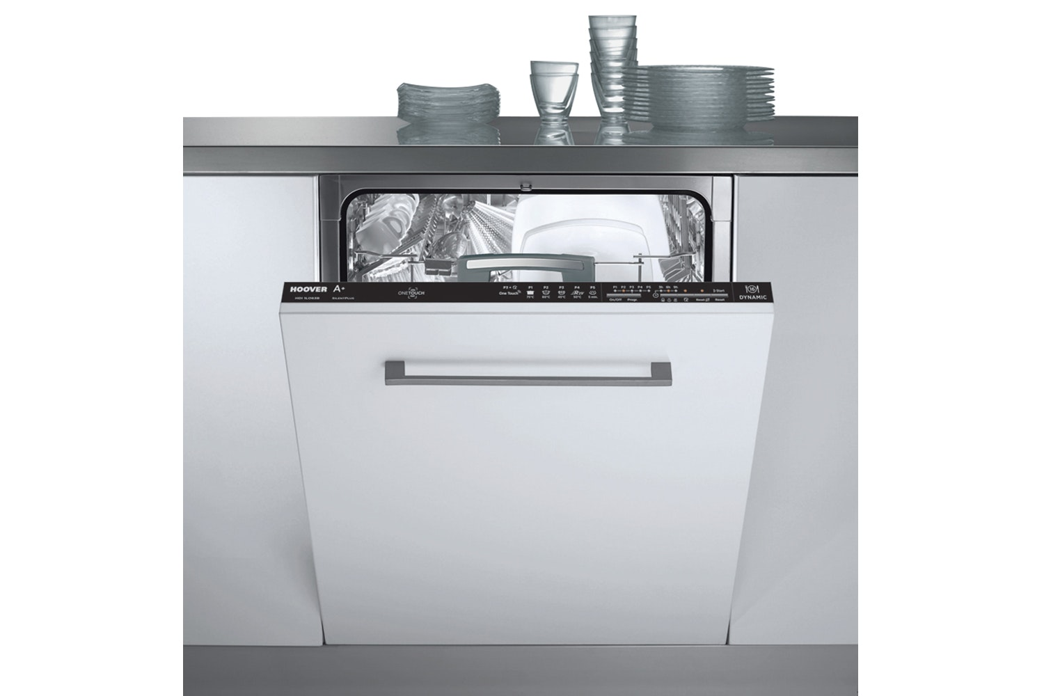 Hoover Fully Integrated Dishwasher | 16 Place | HDI1LO63B-80