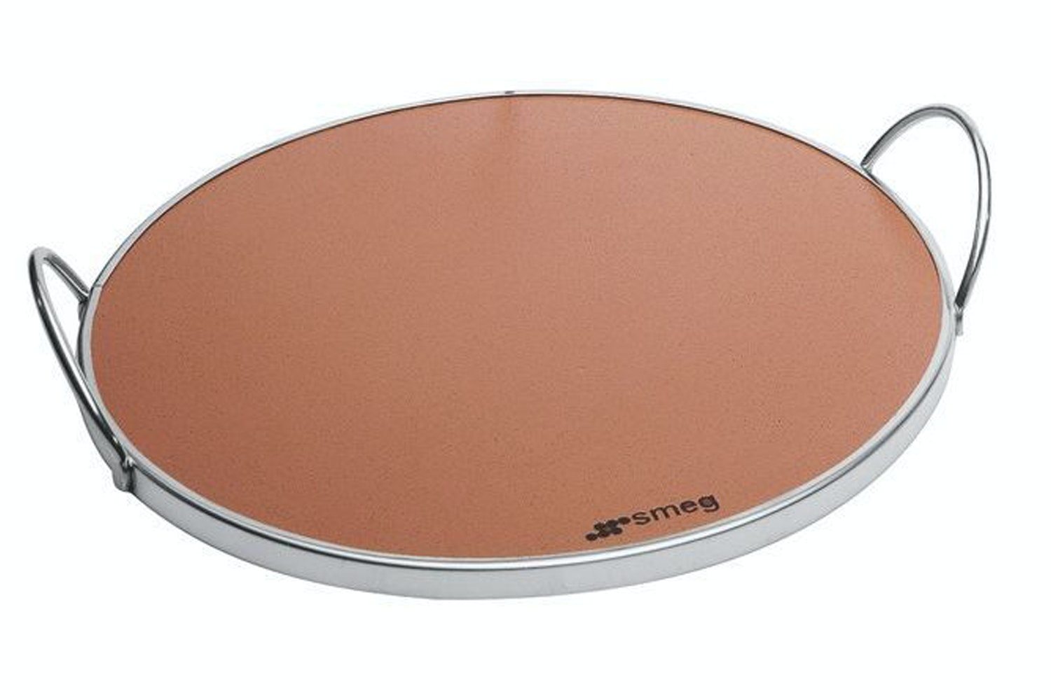 Smeg Pizza Stone with Handle | PRTX