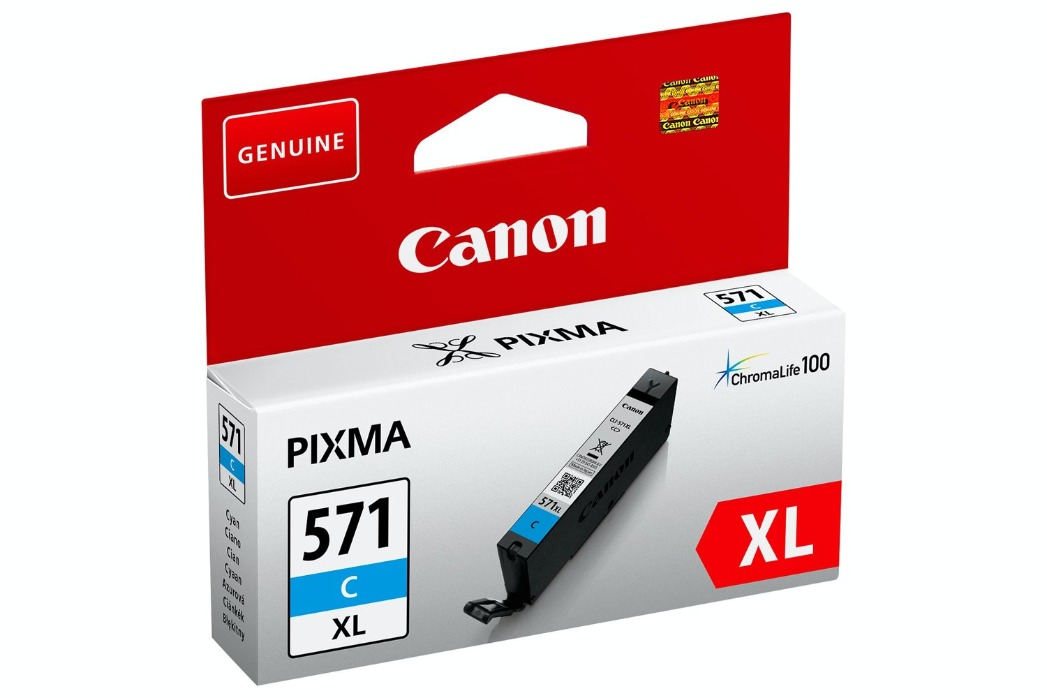Canon CLI-571XL High Yield Ink Cartridge | Cyan
