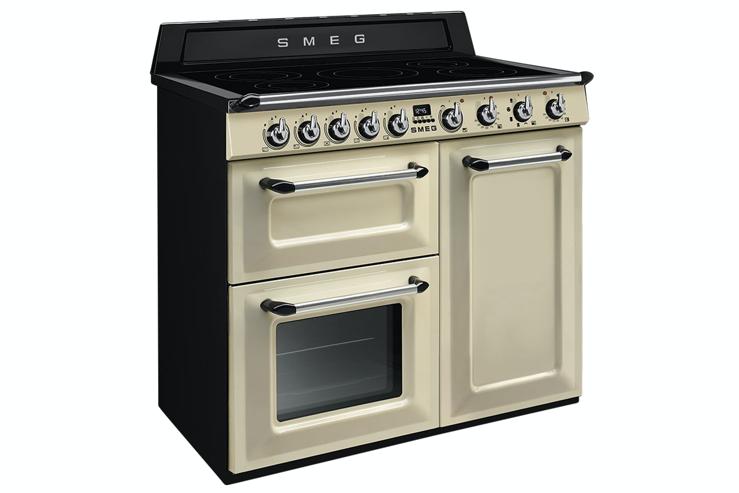 Smeg 100cm Electric Victoria Range Cooker | TR103IP | Cream