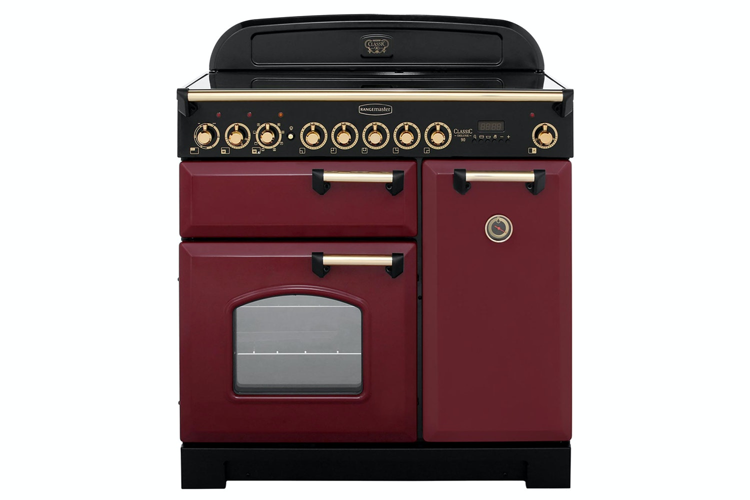 Rangemaster Classic 90cm Induction Range Cooker | CDL90EICY/B | Cranberry