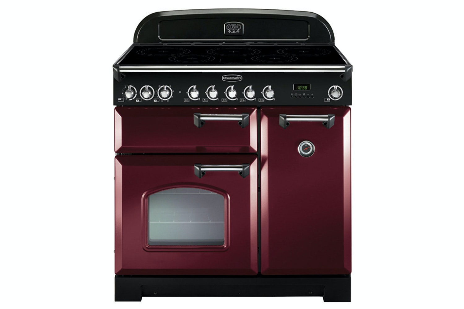 Rangemaster Classic 90cm Induction Range Cooker | CDL90EICY/C | Cranberry