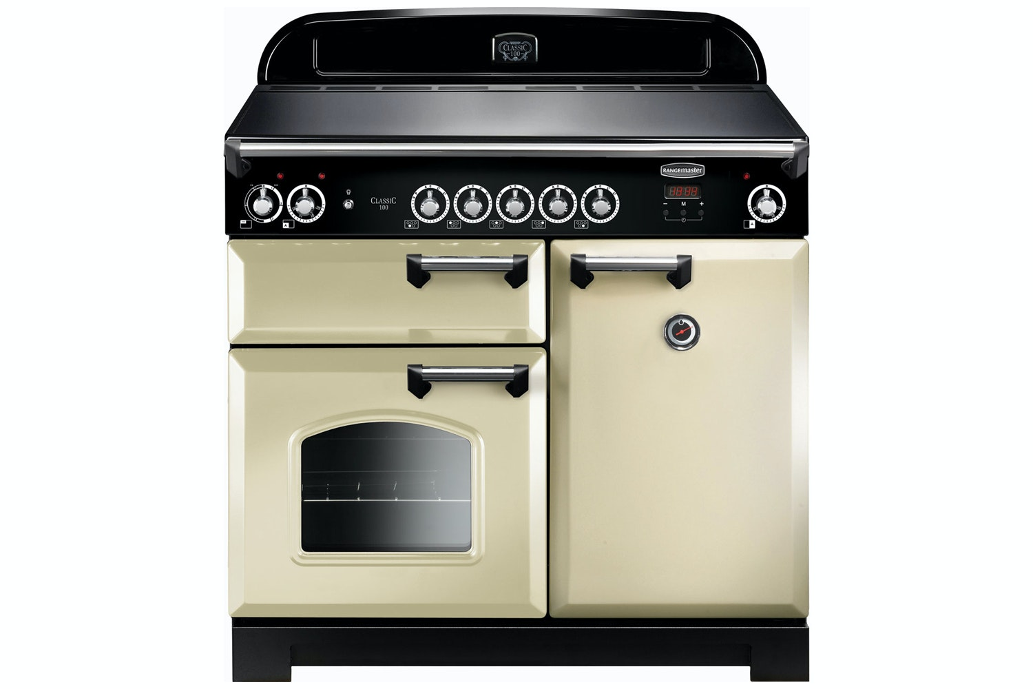 Rangemaster Classic 100cm Induction Range Cooker | CLA100EICR/C | Cream
