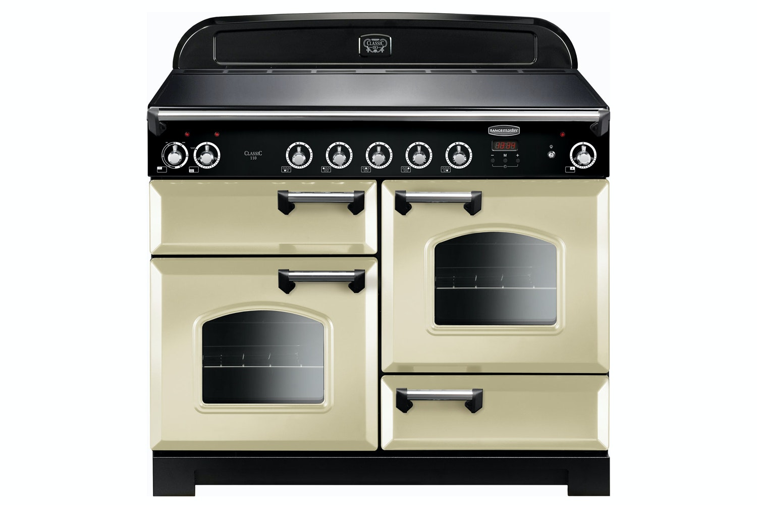 Rangemaster Classic 110cm Induction Range Cooker | CLA110EICR/C | Cream