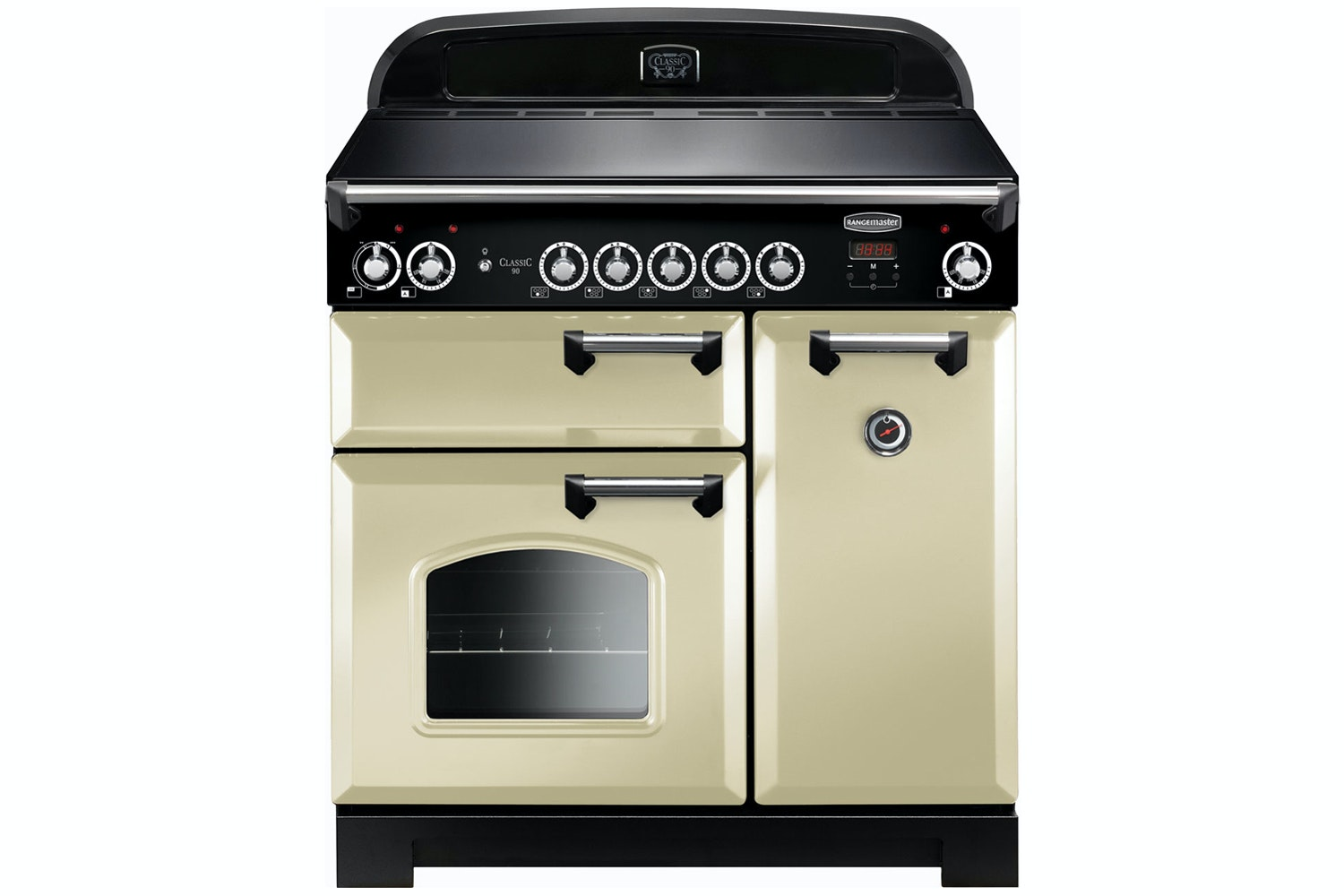 Rangemaster Classic 90cm Induction Range Cooker | CLA90EICR/C | Cream