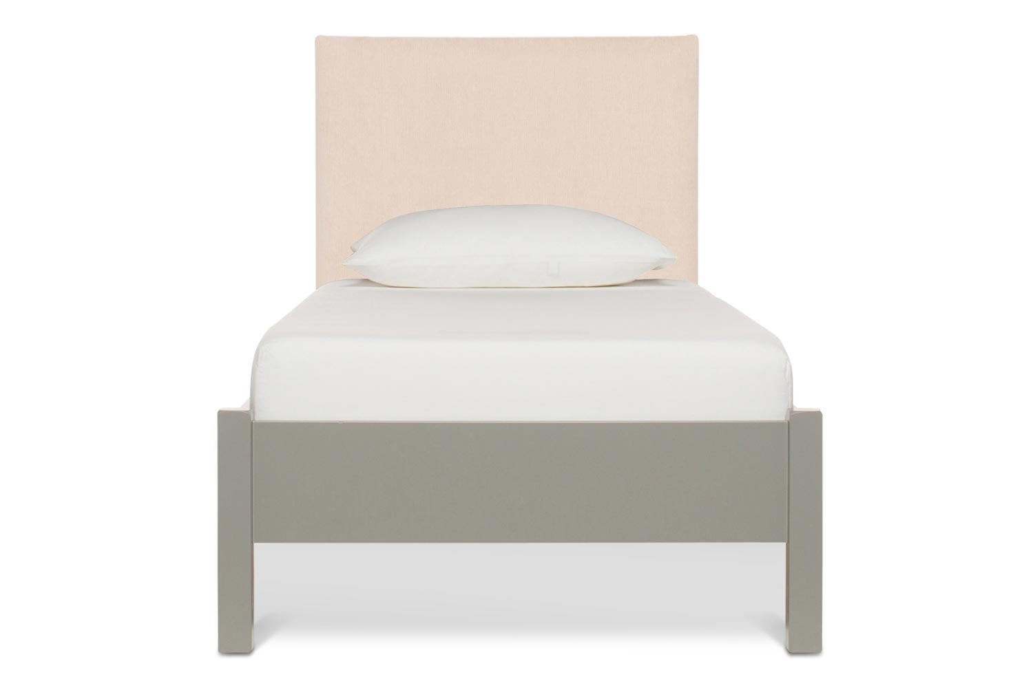 Emily Loft Bed Grey | 3Ft with Dylan Headboard