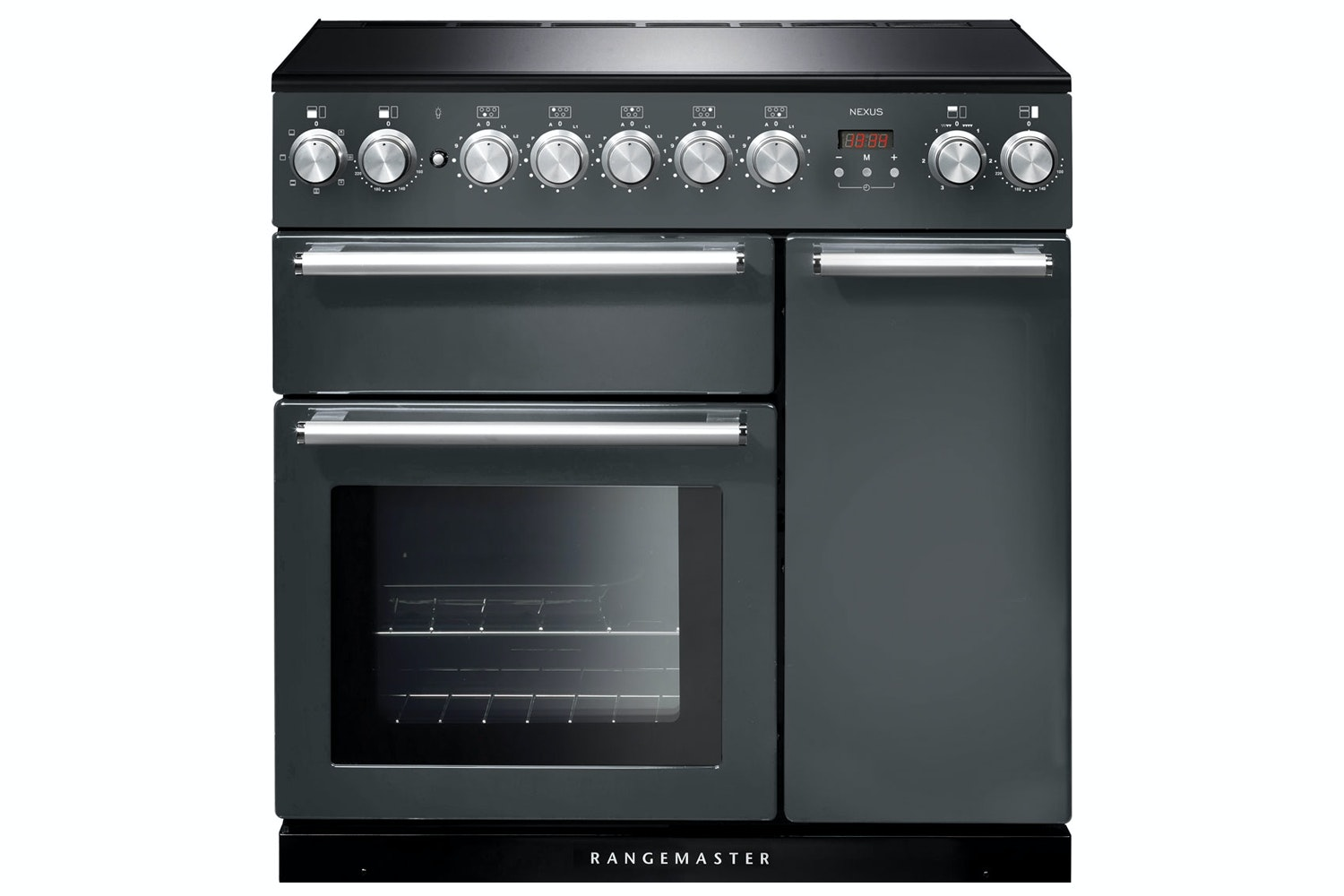Rangemaster 90cm Nexus Induction Electric Range Cooker | NEX90EISL/C | Slate