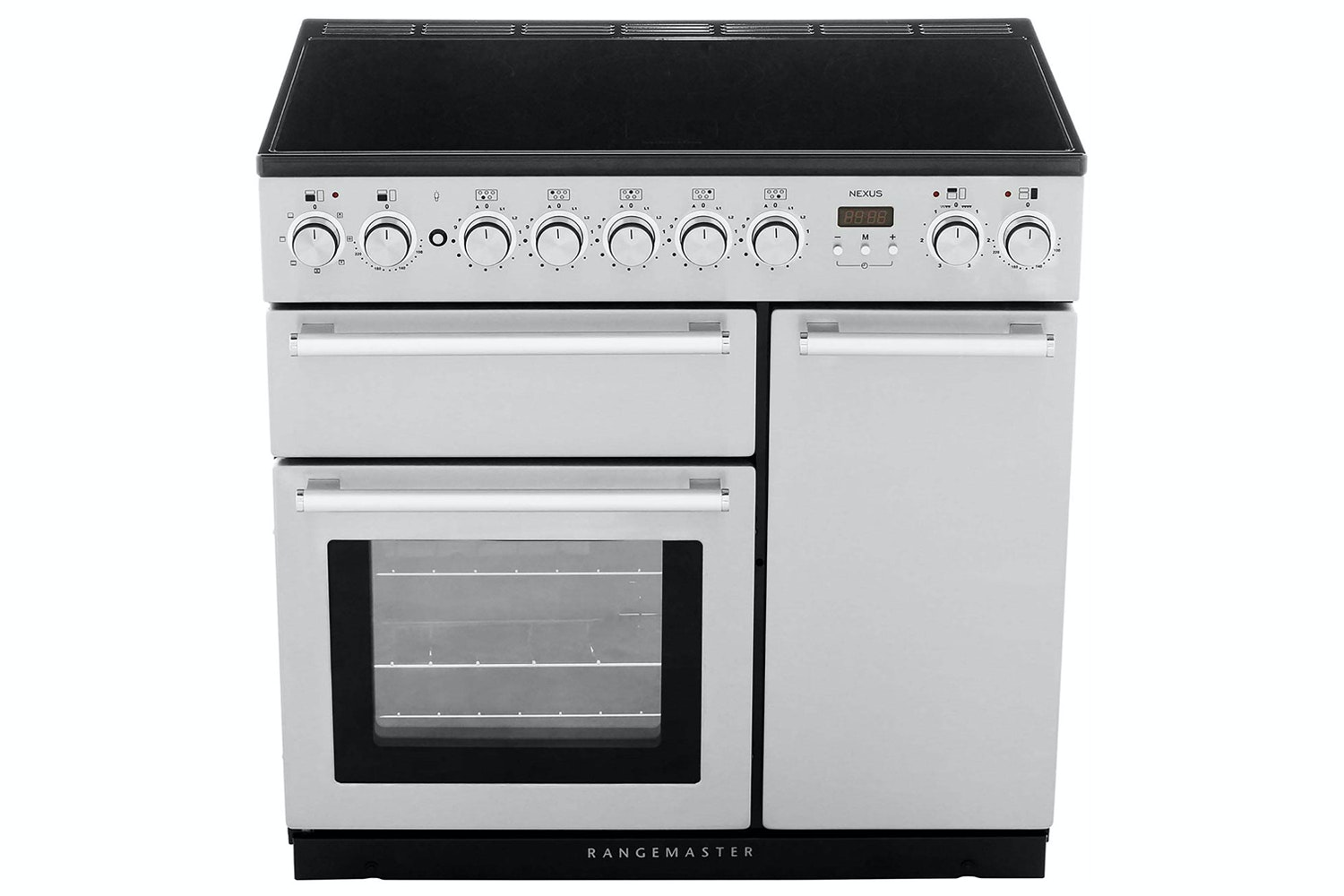 Rangemaster Nexus 90cm Electric Range Cooker | NEX90EIWH/C | White