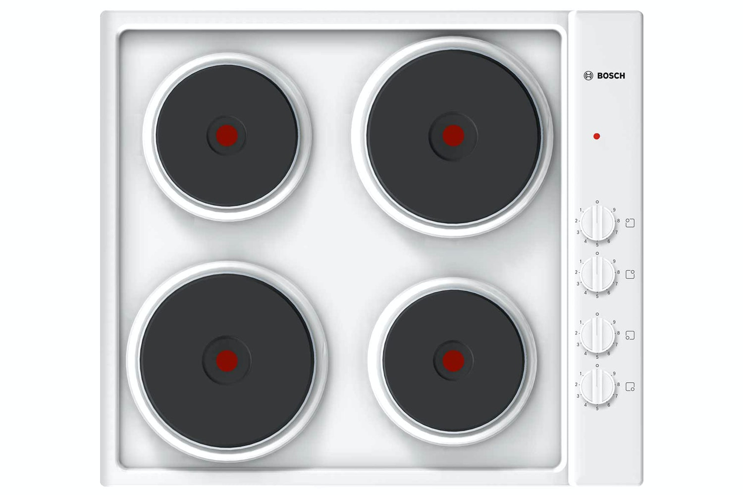 Bosch Serie 2 60cm Electric Solid Plate Hob | PEE682CA1