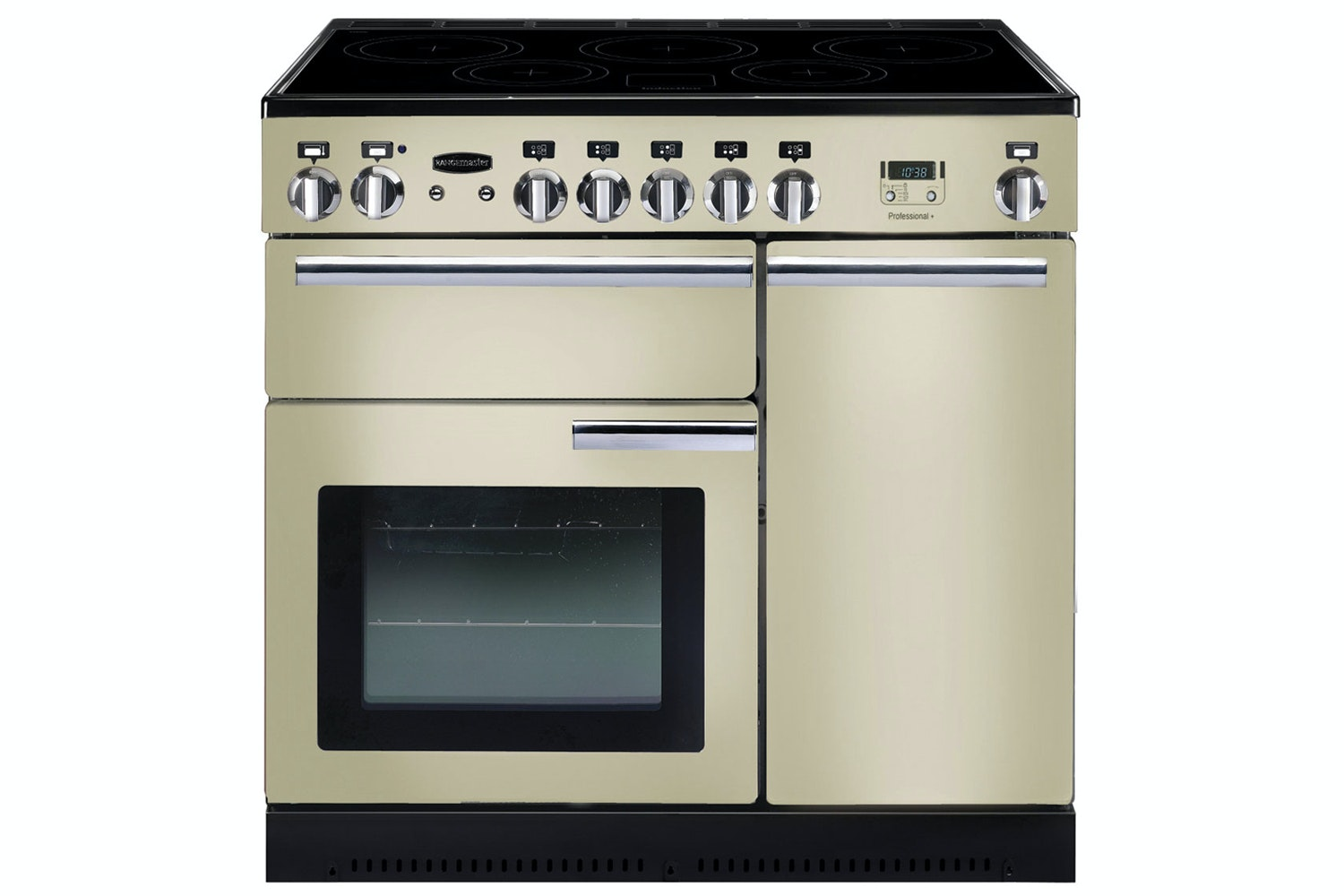 Rangemaster Professional Plus 90cm Electric Range Cooker | PROP90EICR/C | Cream