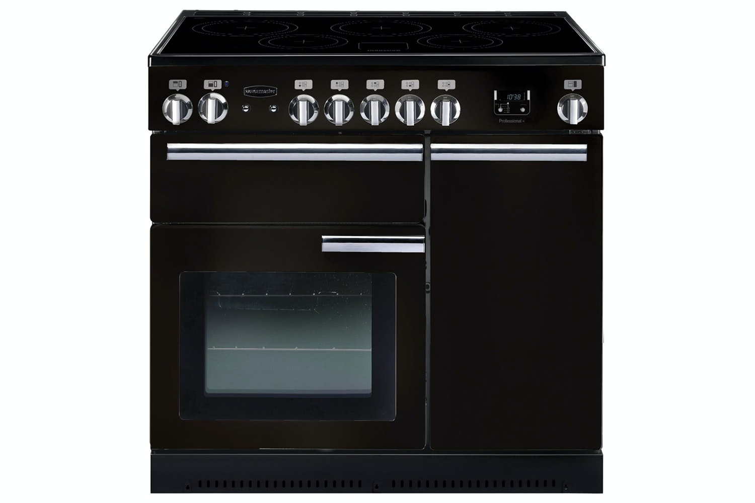 Rangemaster Professional Plus 90cm Electric Range Cooker | PROP90EIGB/C | Black
