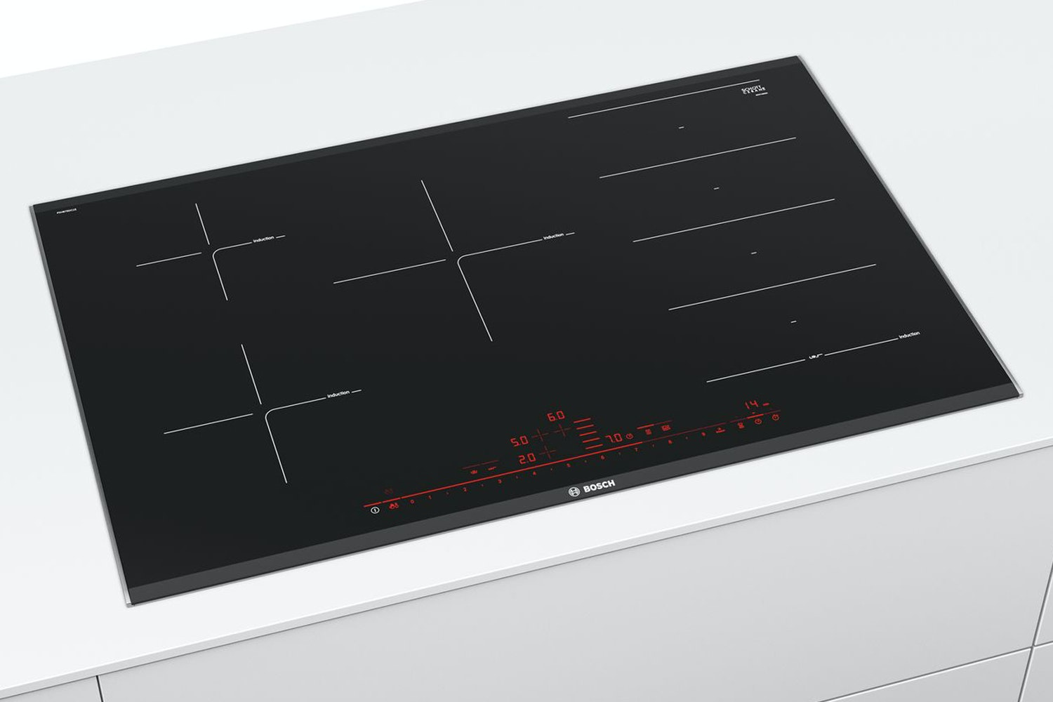 Bosch 80cm Series 8 Flex Induction Hob | PXV875DC1E
