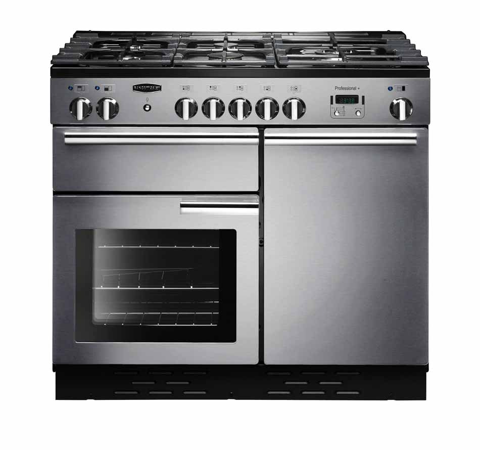 Rangemaster Infusion 100cm Electric Range Cooker | INF100EISS | Stainless Steel