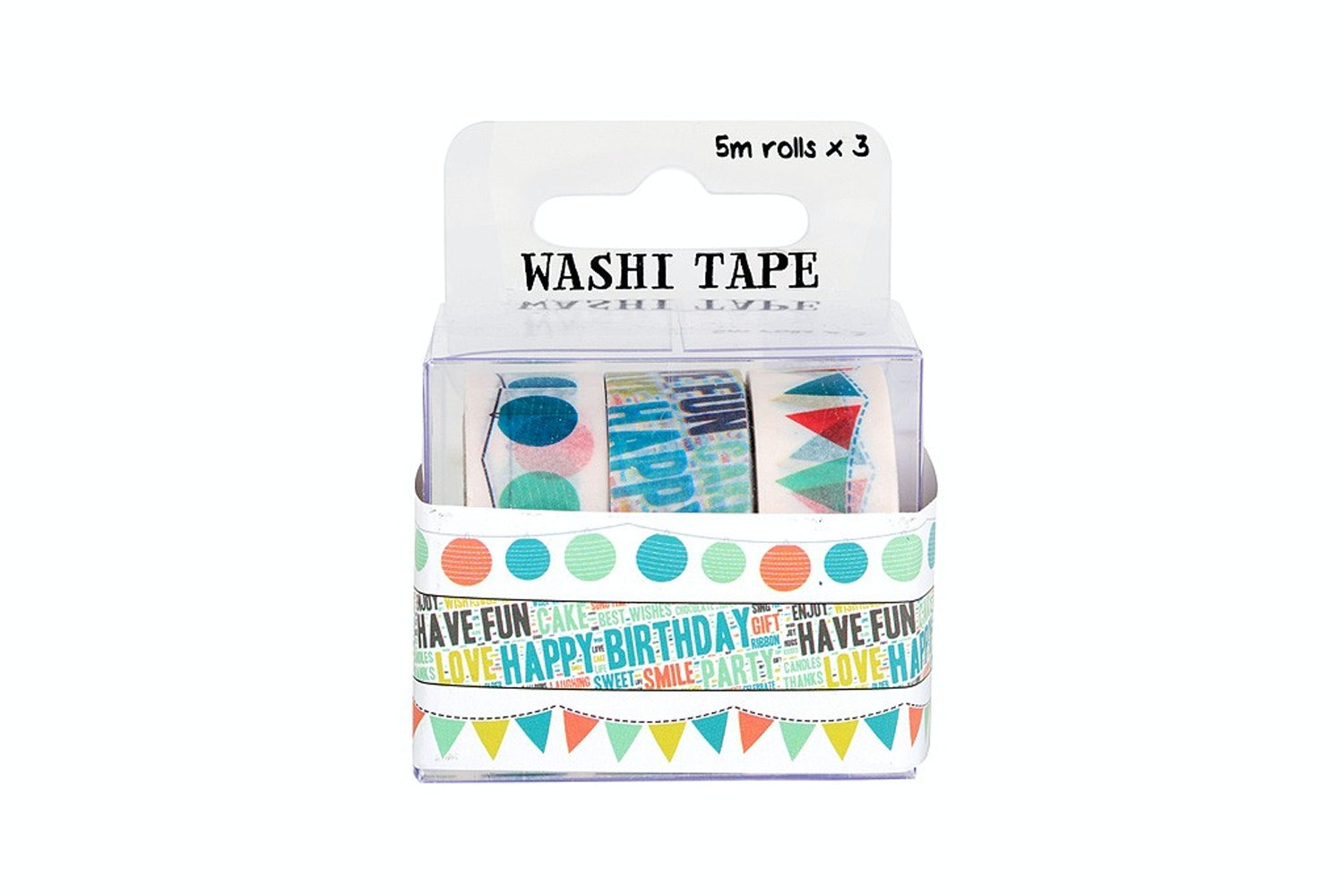 FujiFilm Instax Washi Tape 3 Roll | Party
