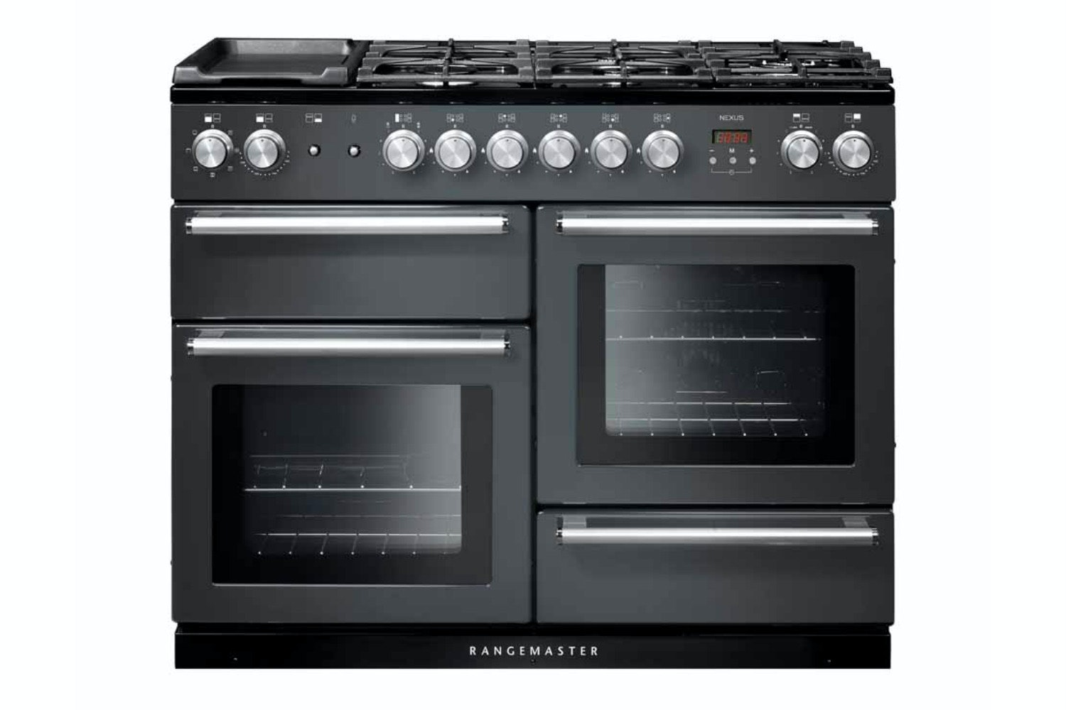 Rangemaster Infusion 100cm Dual Fuel Range Cooker | INF100DFFSS | Stainless Steel