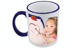 Personalised Coloured Photo Mug