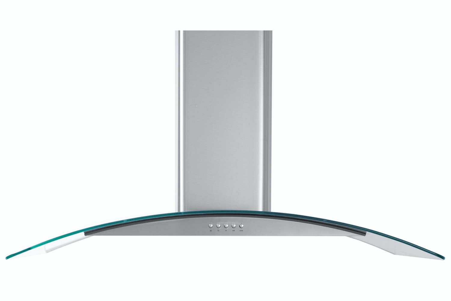 Cata 90cm Curved Glass Chimney Hood | CG90SS