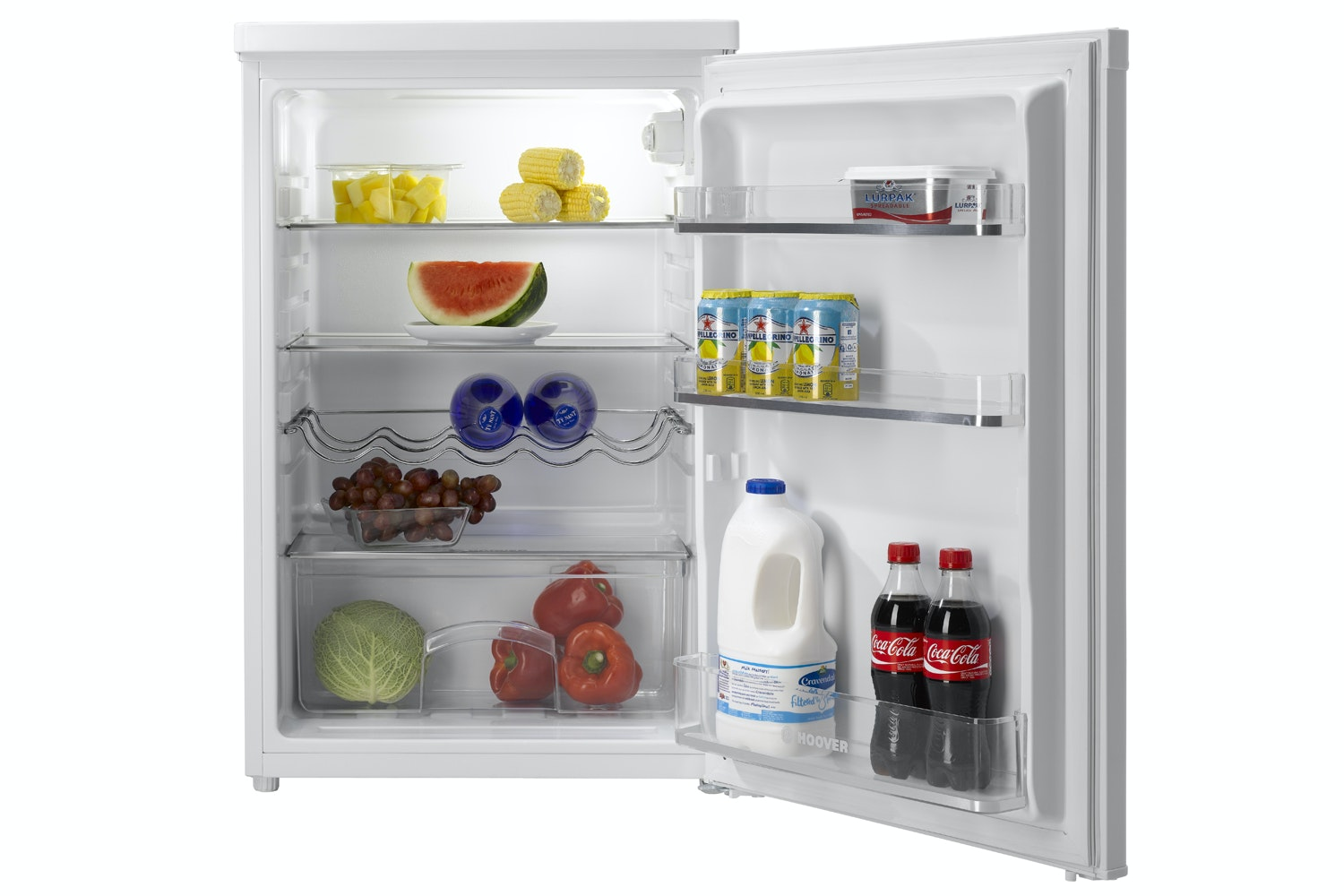 Hoover Under Counter Larder Fridge | HFLE54W