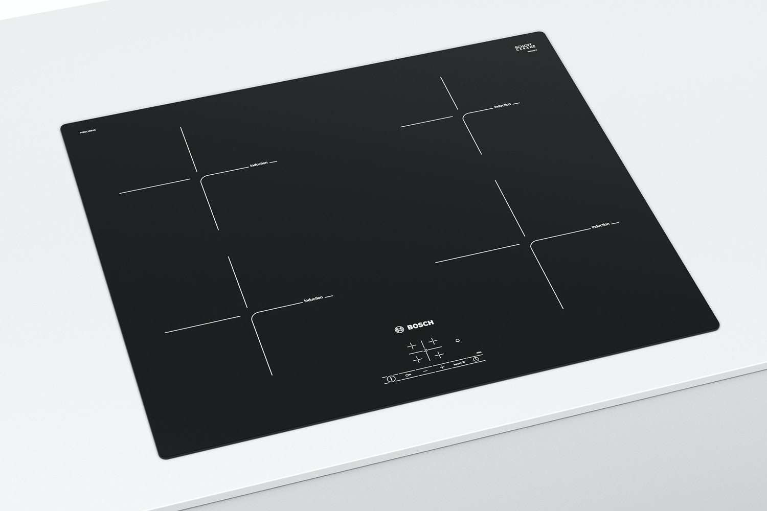 Bosch Series 4 60cm Induction Hob | PUE611BF1B