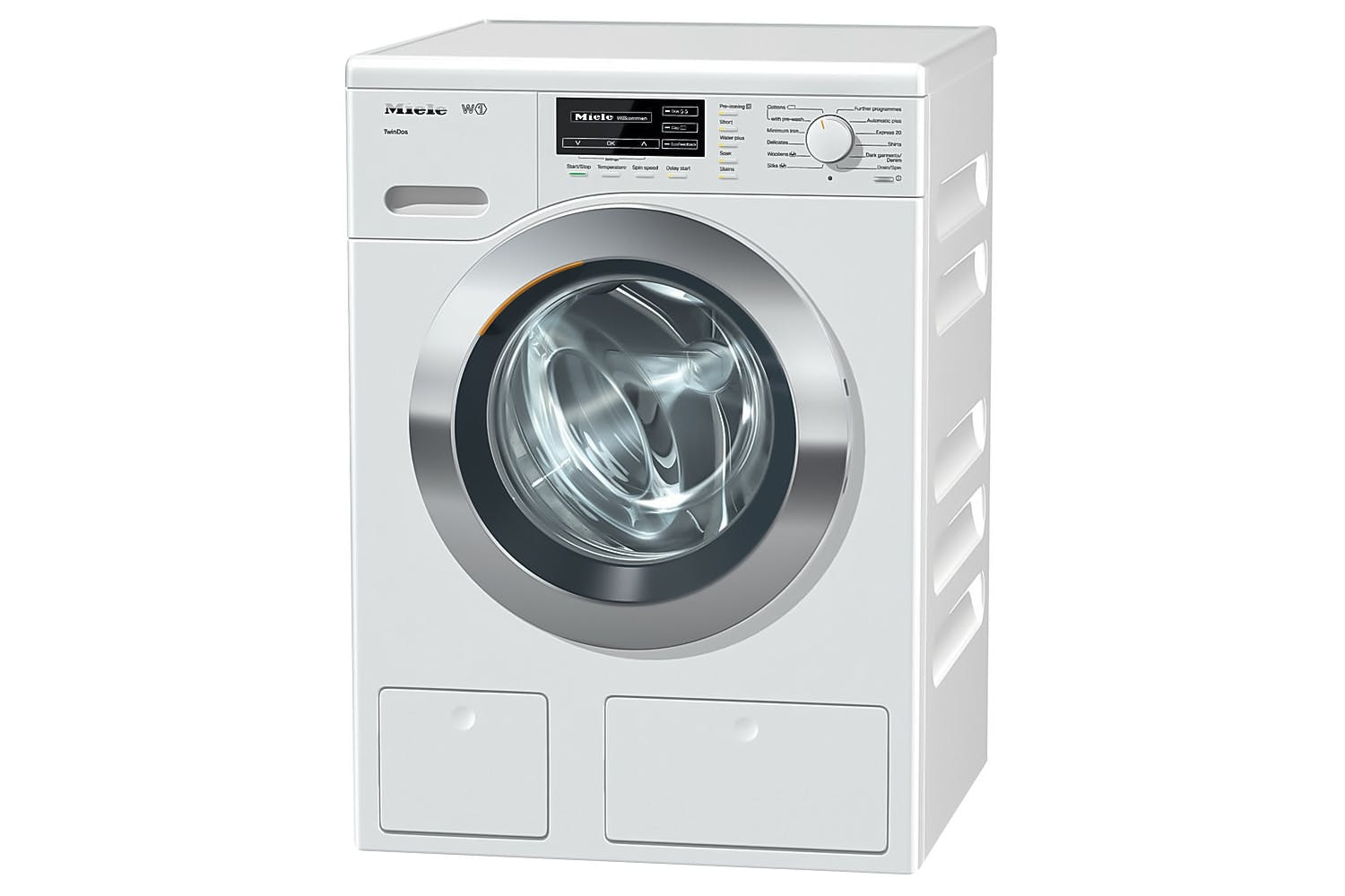 W1 Front-loading washing  machine with TwinDos and CapDosing   excellent wash results with total convenience.