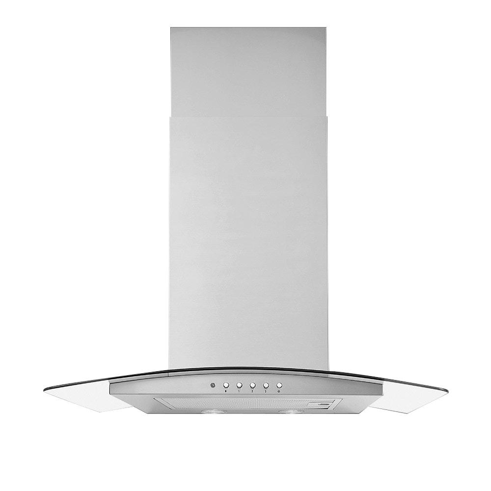 Luxair 80cm Artis Glass Cooker Hood | LA80ARTISSS