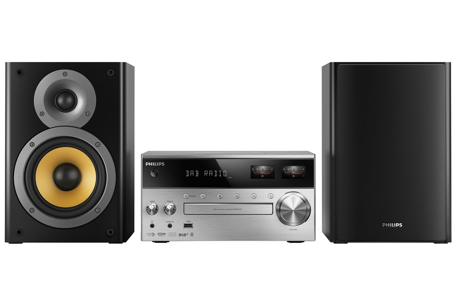 Philips Micro Music System with Bluetooth | BTB8000/12