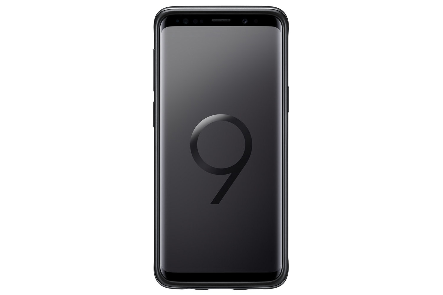 Samsung Galaxy S9 Plus Protective Standing Cover | Black