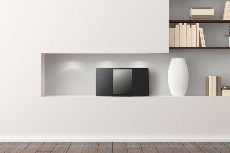 Panasonic 2.0 Ch Wireless Flat Panel Hi-Fi System | Black