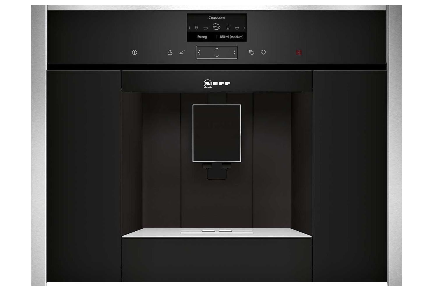 Neff Built In Coffee Machine | Black