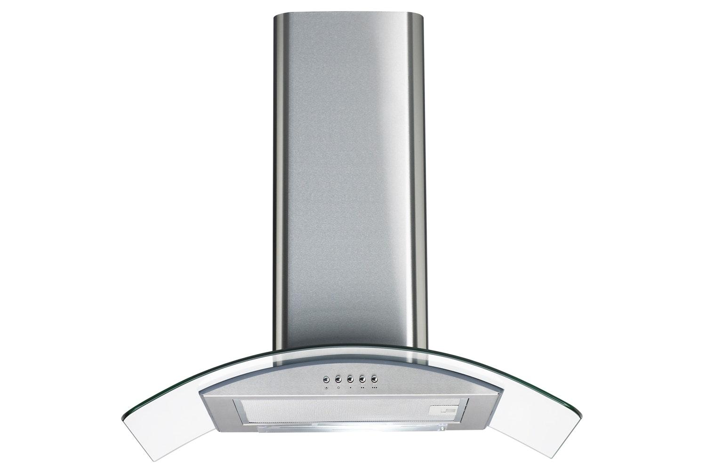 Cata 60cm Curved Glass Chimney Hood | CG60SS