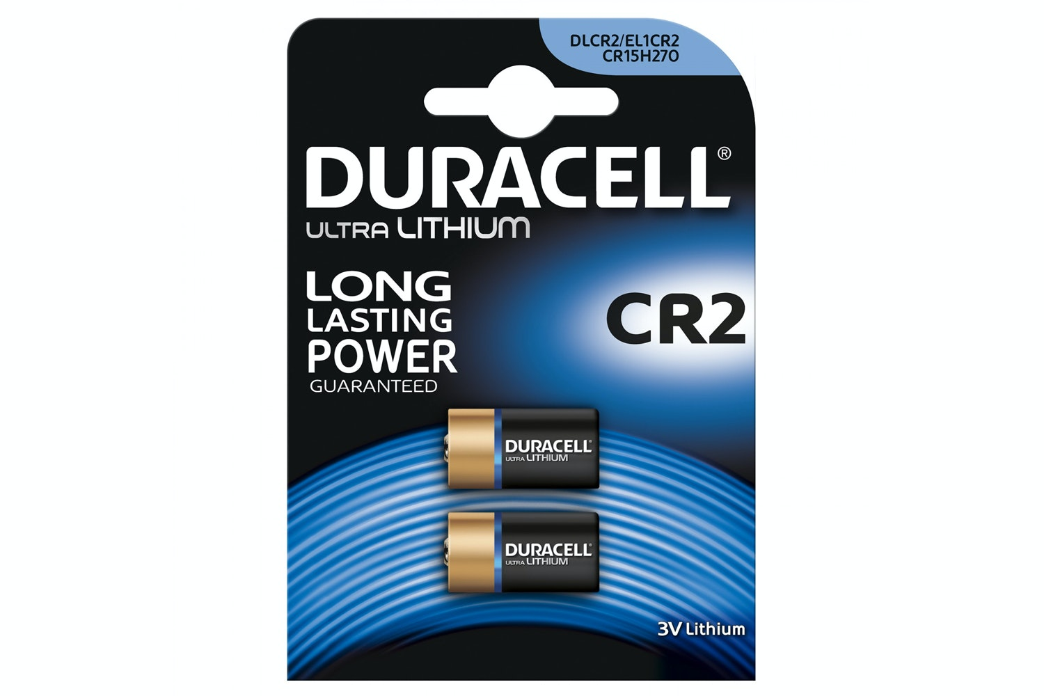Duracell Ultra CR2 Lithium Battery | 2 Pack