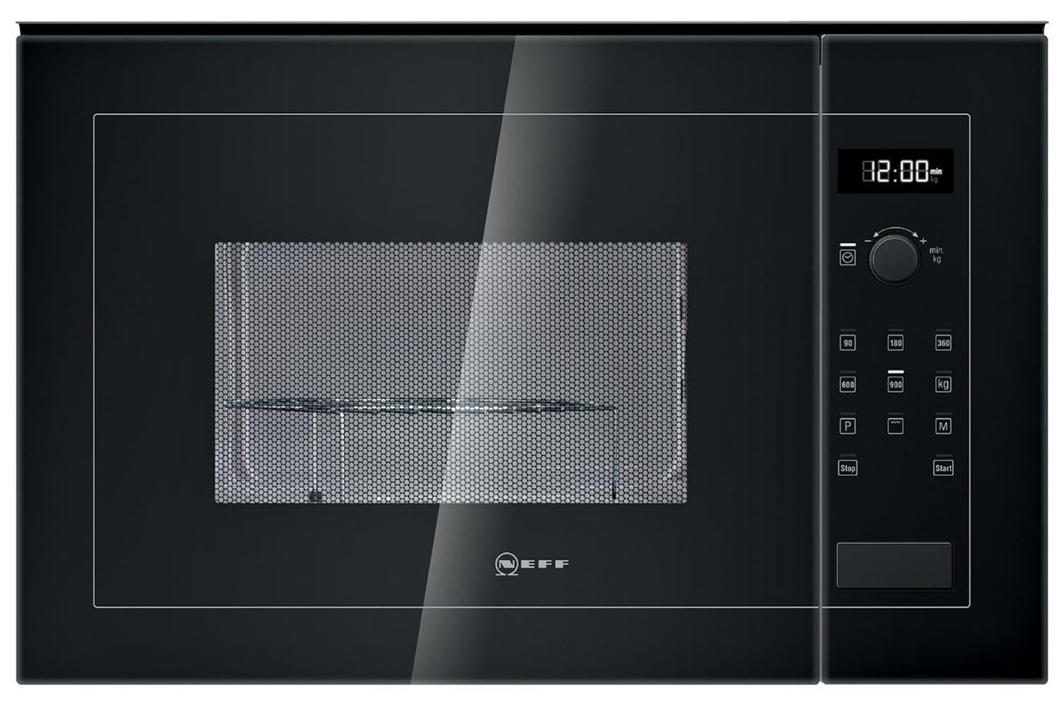 Neff 25L 900W Built In Microwave | H12WE60S0G | Black