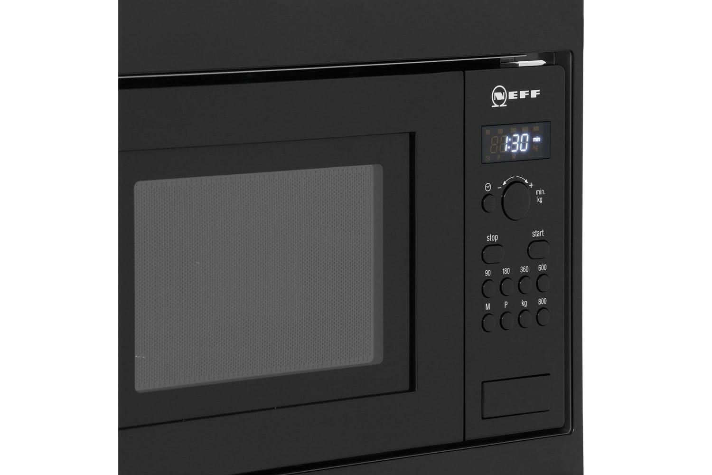 Neff 17L 800W Built In Microwave | H53W50S3GB | Black