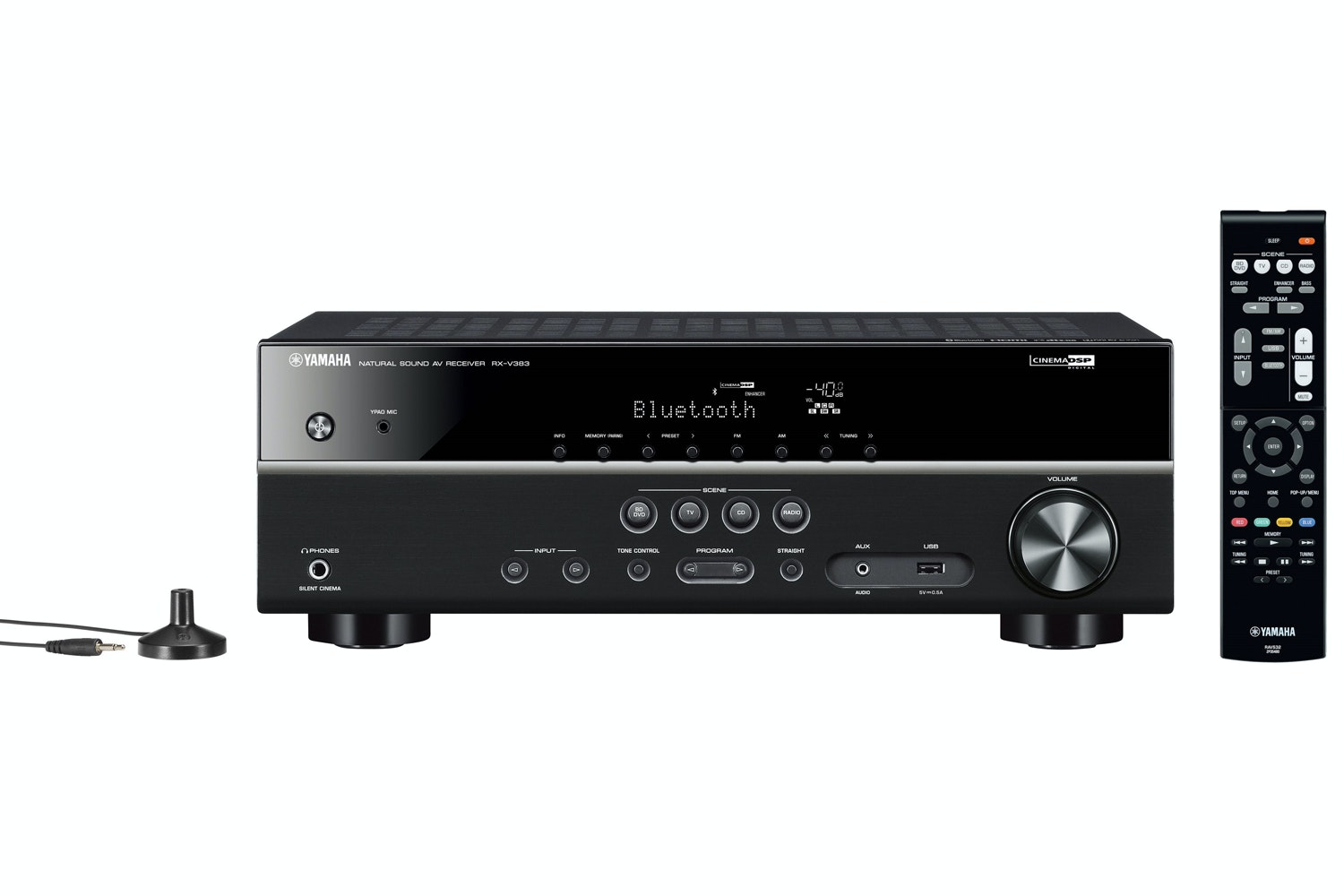 Yamaha RX-V383 5.1 Channel AV Receiver | Black