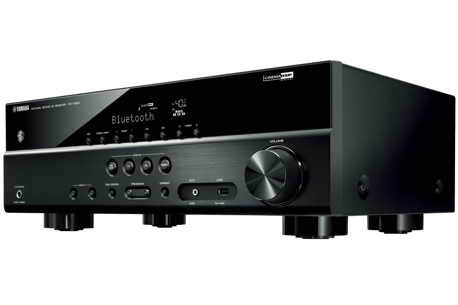 Yamaha Rx V383 51 Channel Av Receiver Black Ireland Making Home Theater Surround Amplifier