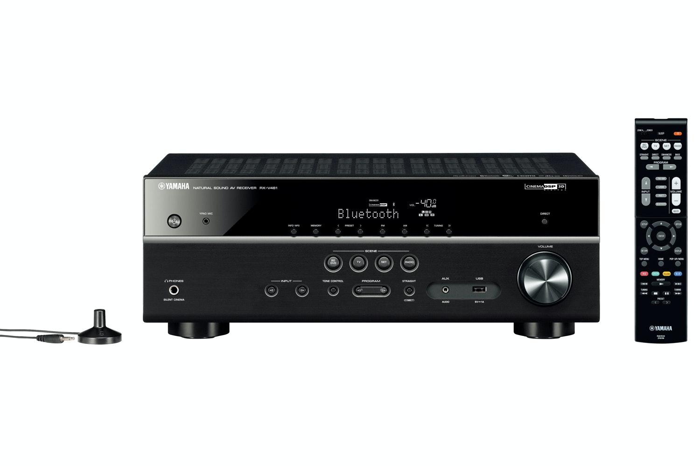 Yamaha MusicCast RX-V481 AV Receiver | Black