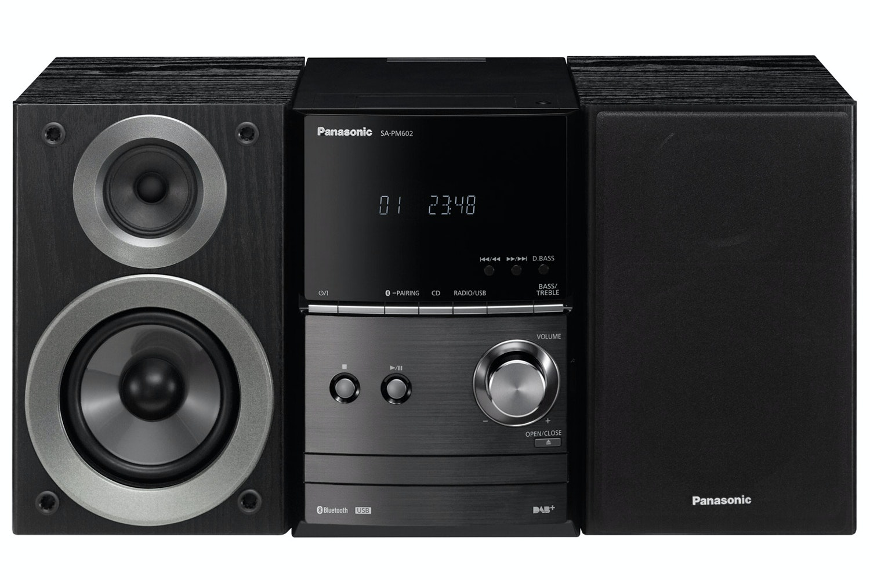 Panasonic SC-PM602EB 40W Micro Hi-Fi System