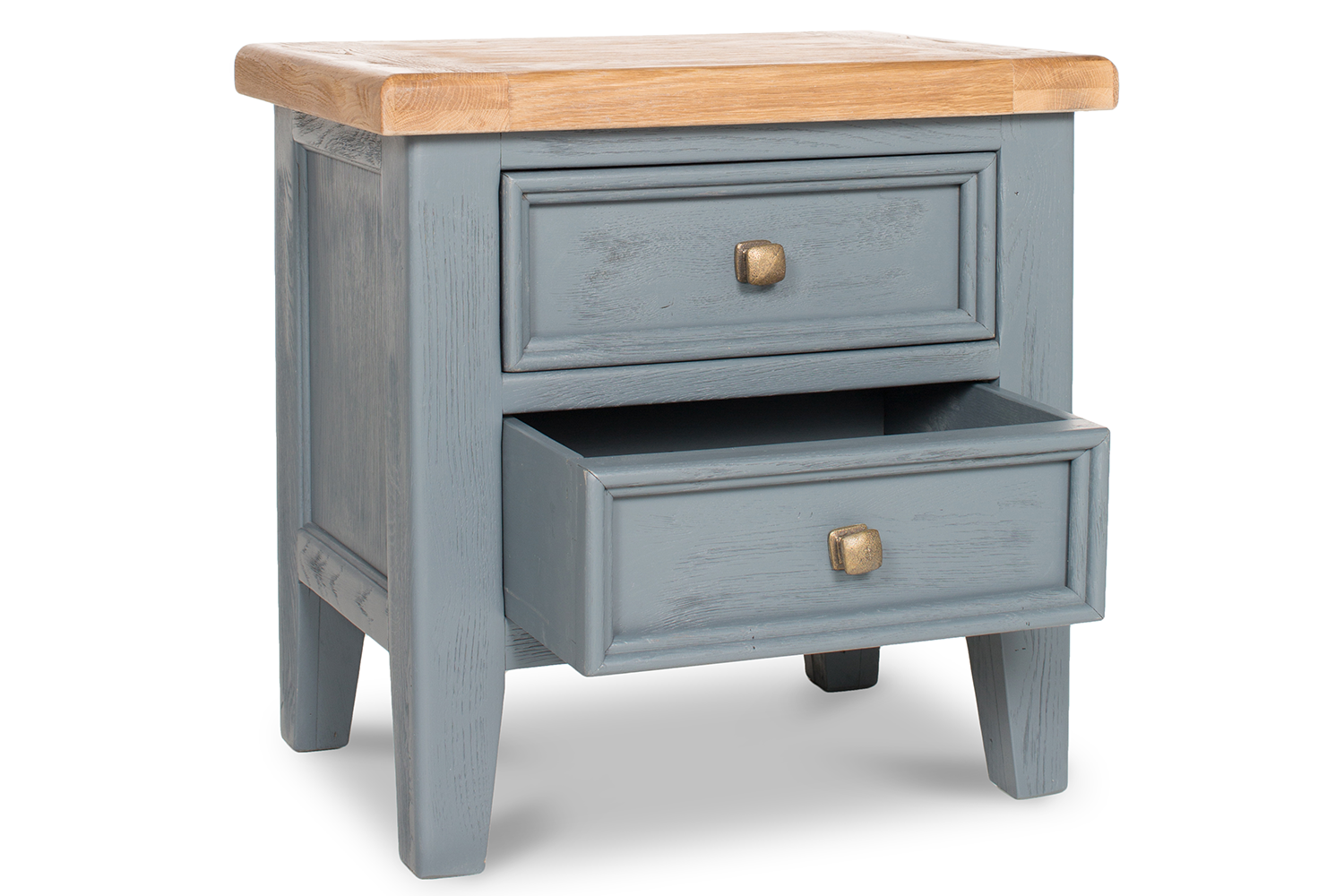 Tisbury Lamp Table with Drawers