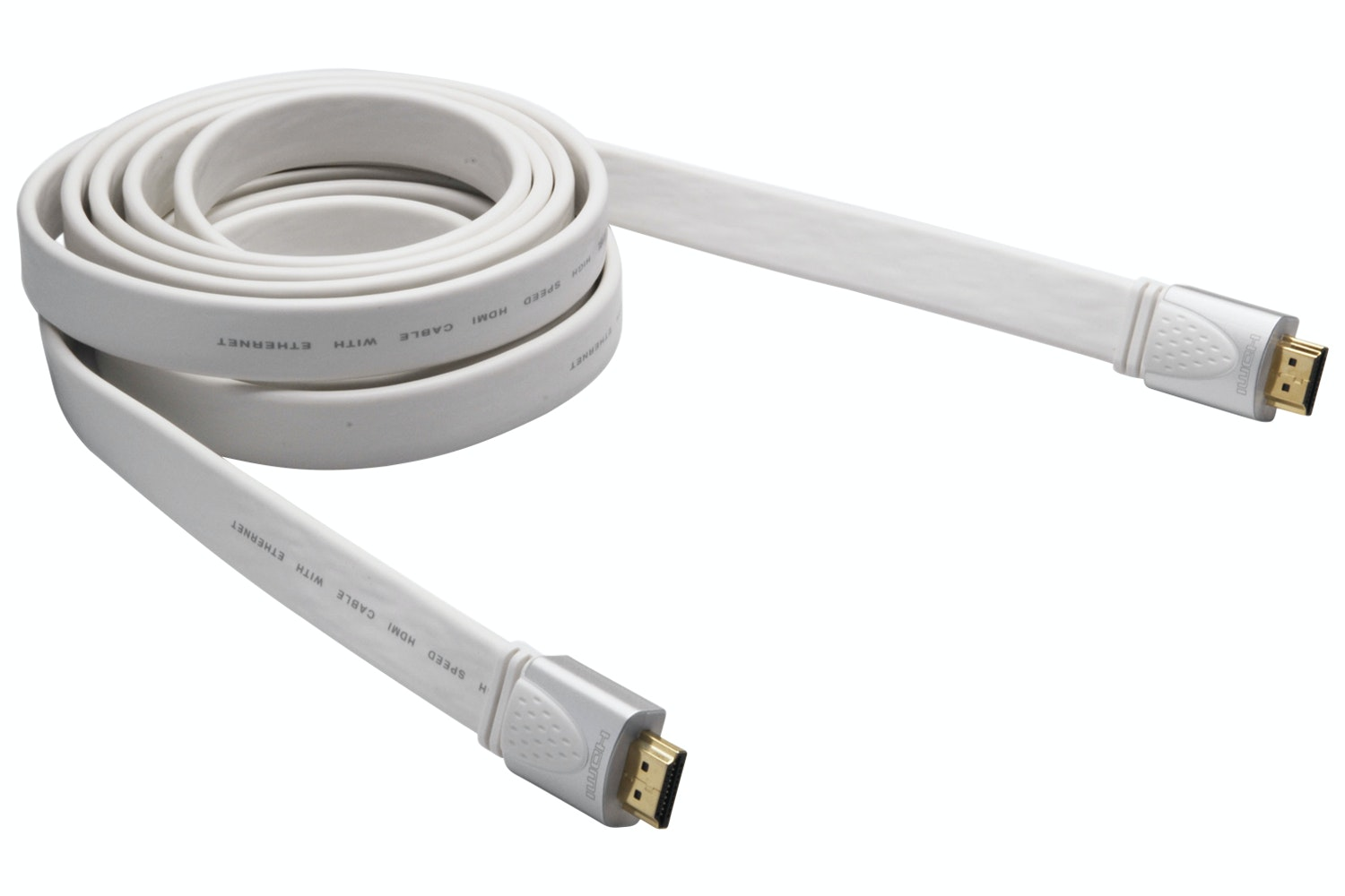 G&BL 6711 HDMI 2.0 Flat Audio/Video Cable | 1m