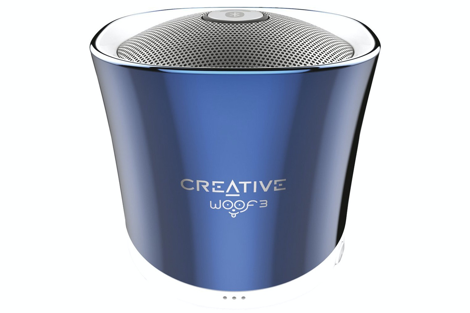 Creative Woof 3 Portable Wireless Bluetooth Speaker | Blue