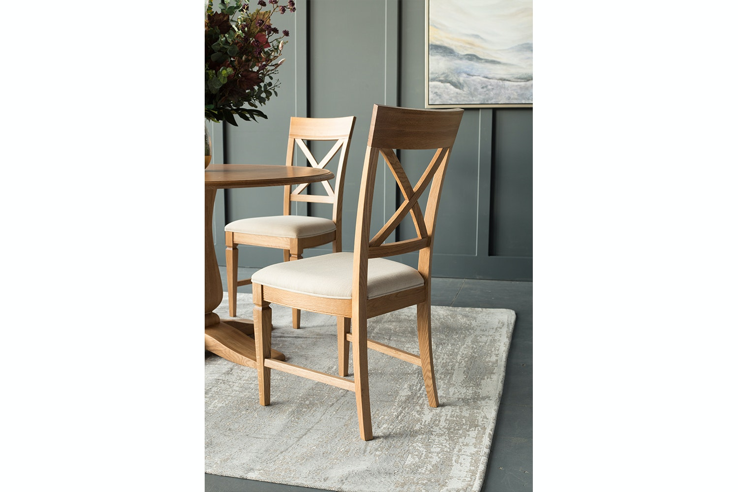 Prunella 5 Piece Dining Set | Round Table