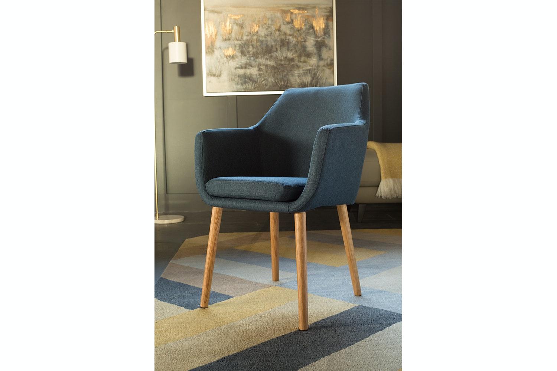 Stockholm Carver Chair | Blue