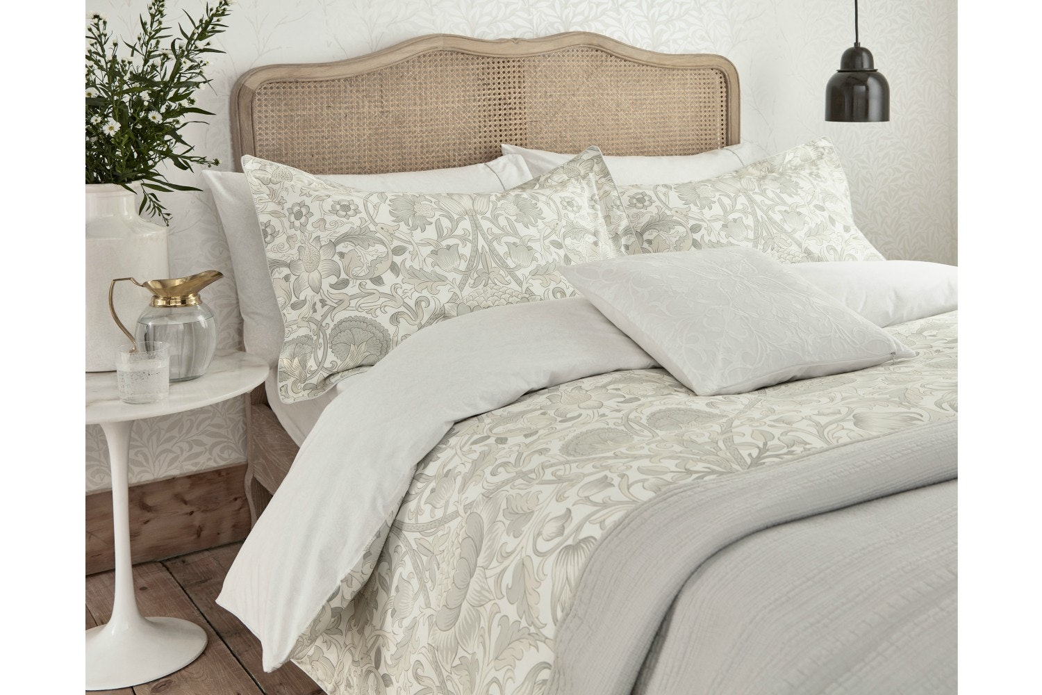 Pure Lodden Duvet Cover| Eggshell | Super King