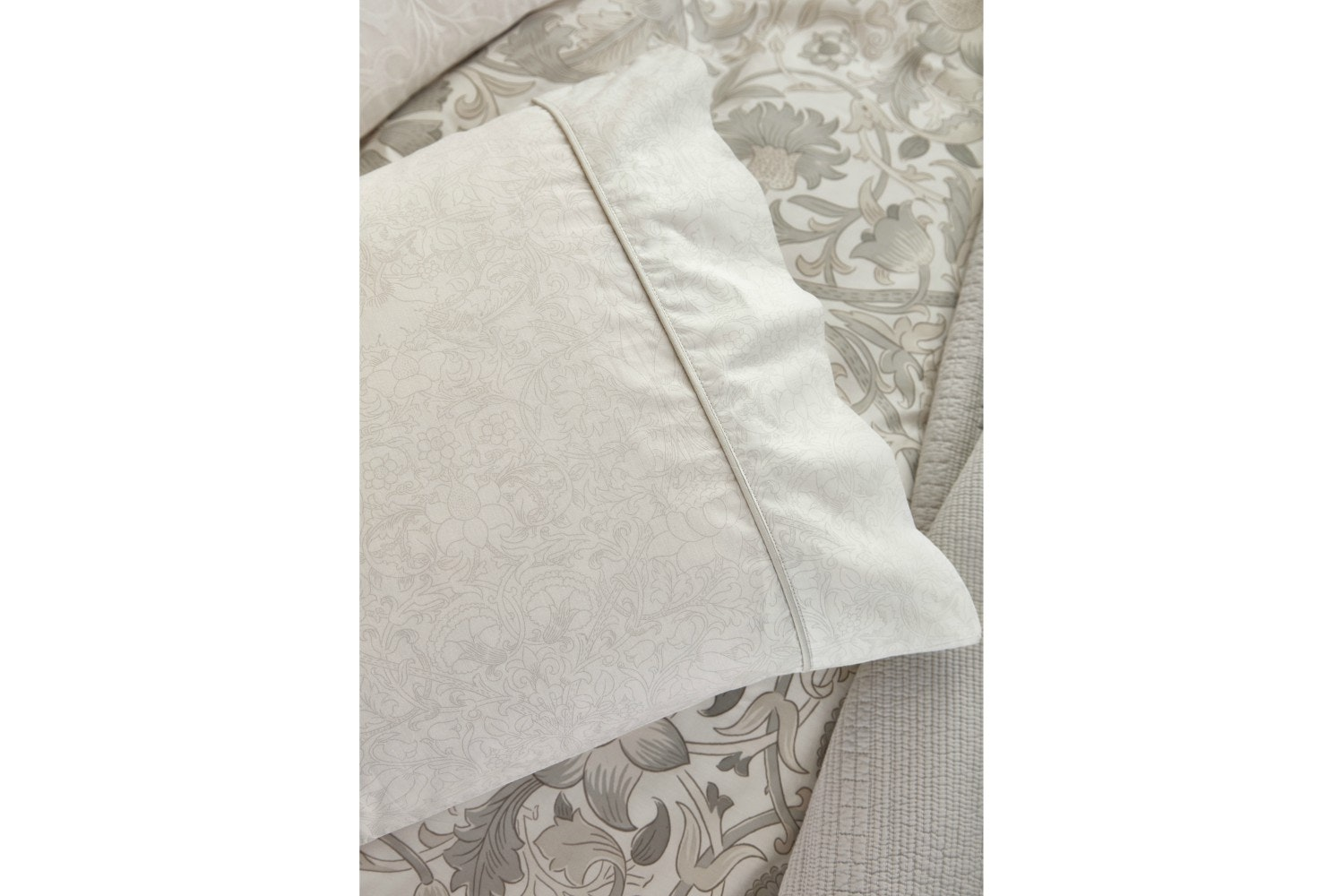 Pure Lodden Oxford Pillow Case | Eggshell
